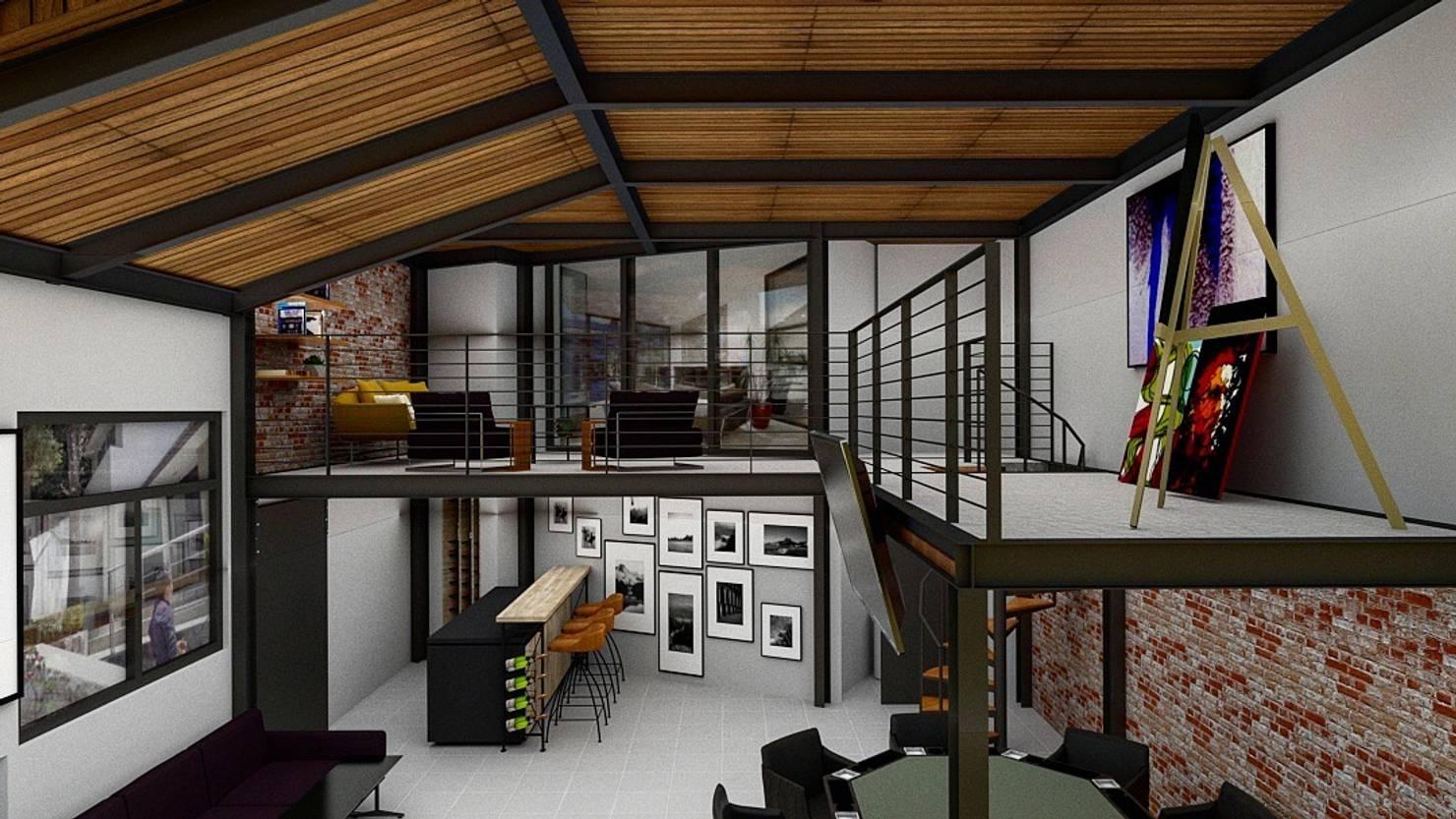 Diseño de interiores de lofts en Ciudad de México
