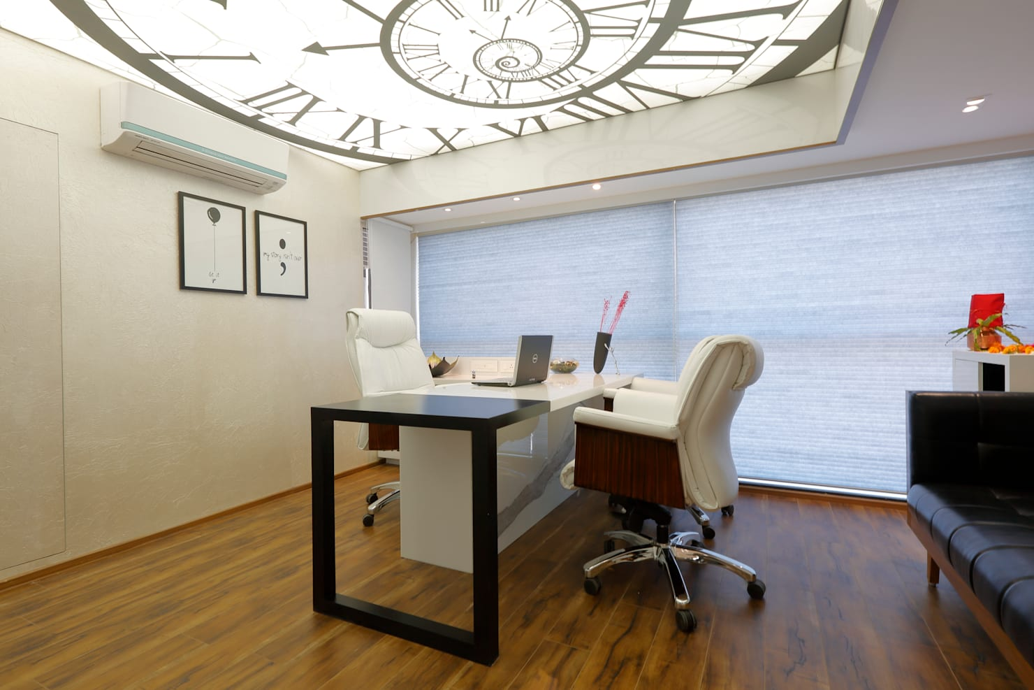 An office in Ahmedabad that reflects class and style
