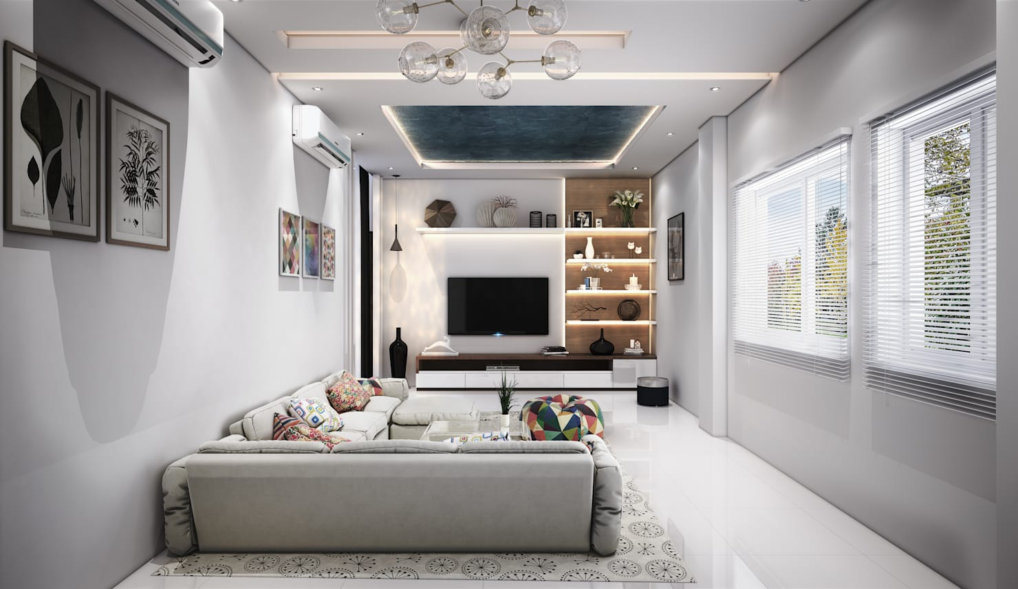 Residential flat interiors by professionals in Hyderabad