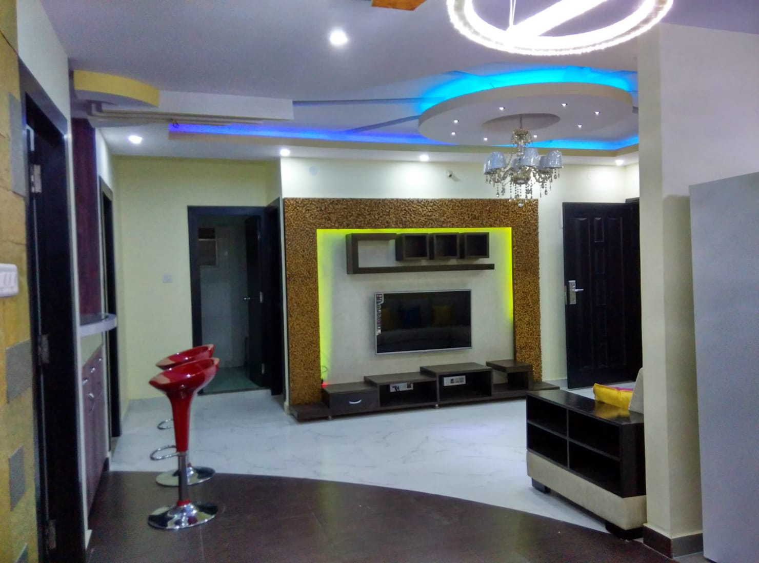 TV unit design ideas by interior decorators in Bangalore