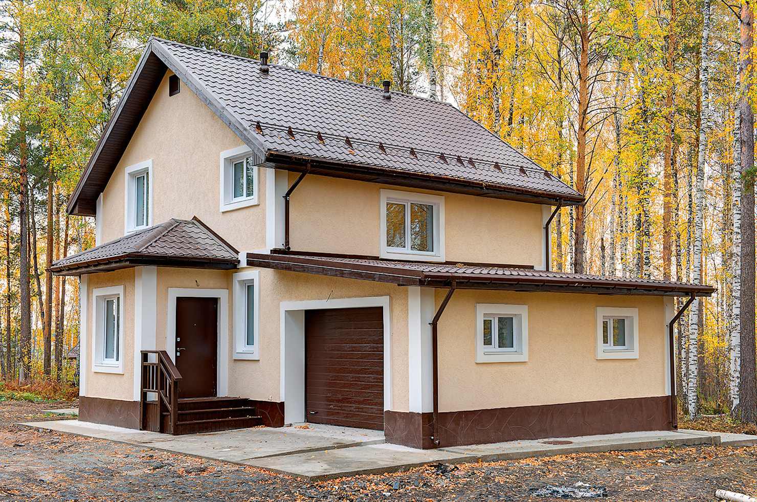 Реальные фото домов и коттеджей в спб