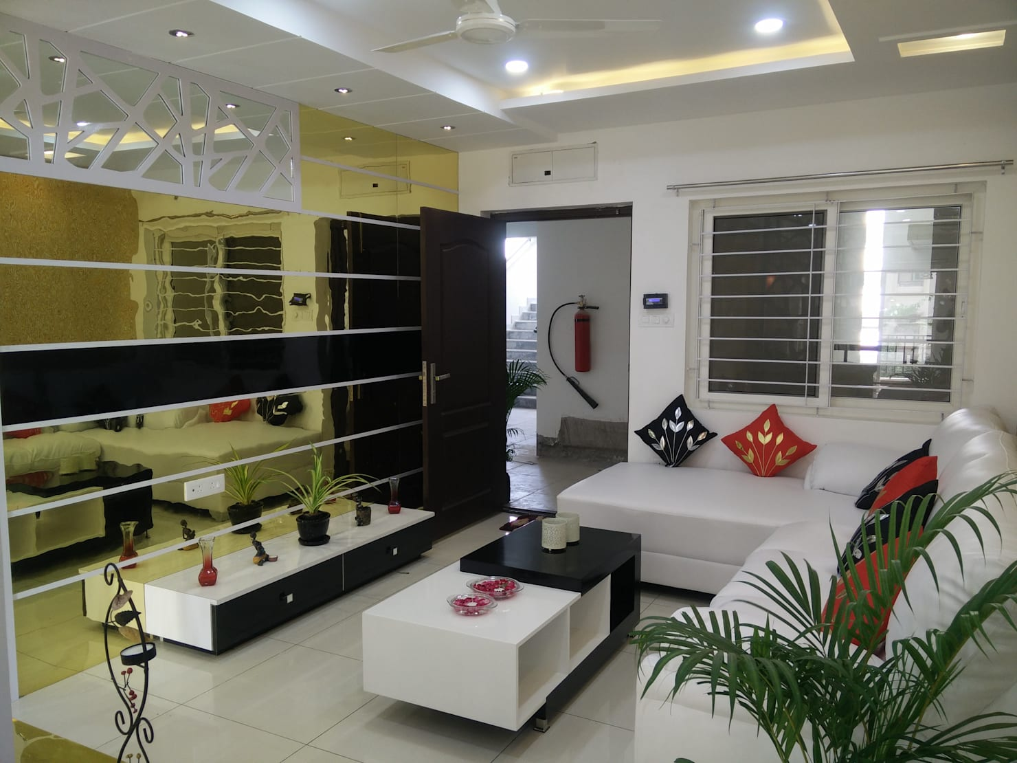 Home furnishing ideas from a 3bhk home in Hyderabad