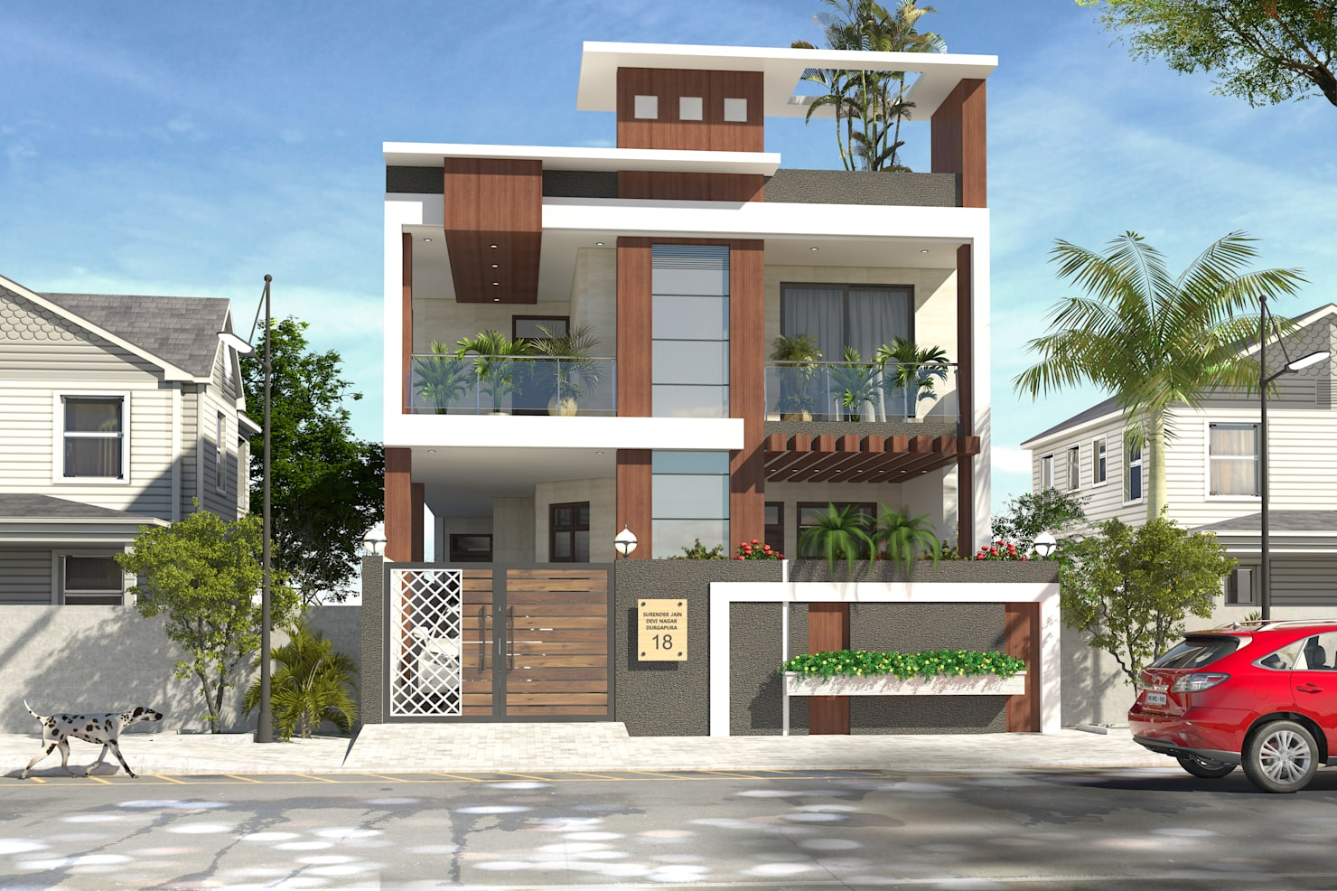 Things to consider before choosing a bungalow façade design