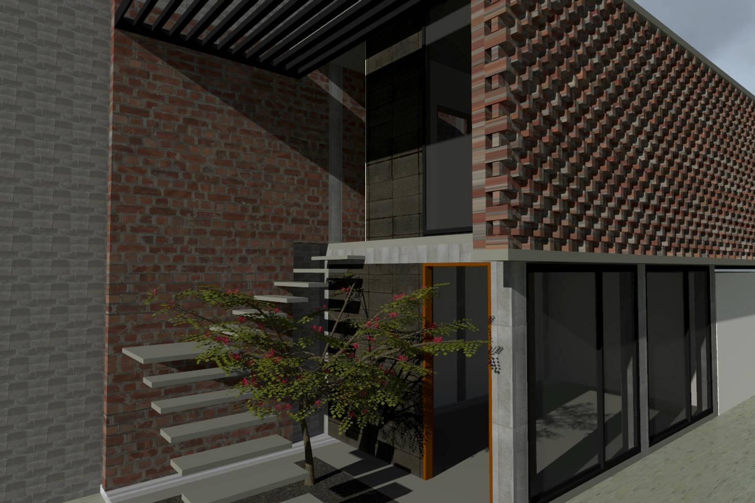 Proyecto de ampliación de una casa en la ciudad