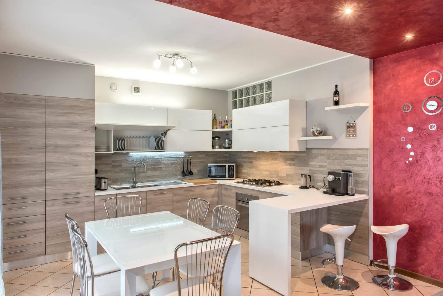 Una cocina moderna hecha a medida