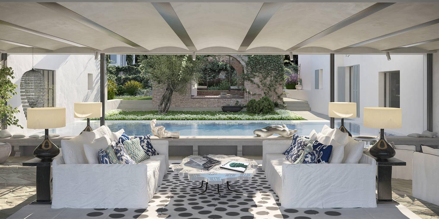 Progettazione Ville di Lusso con Piscina a Ibiza