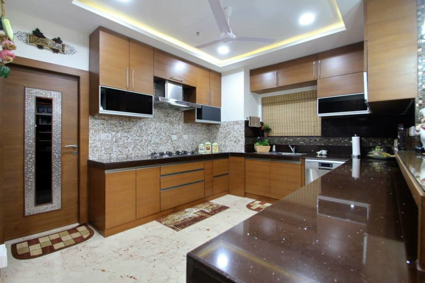 How do I build a modern kitchen for an Indian home?