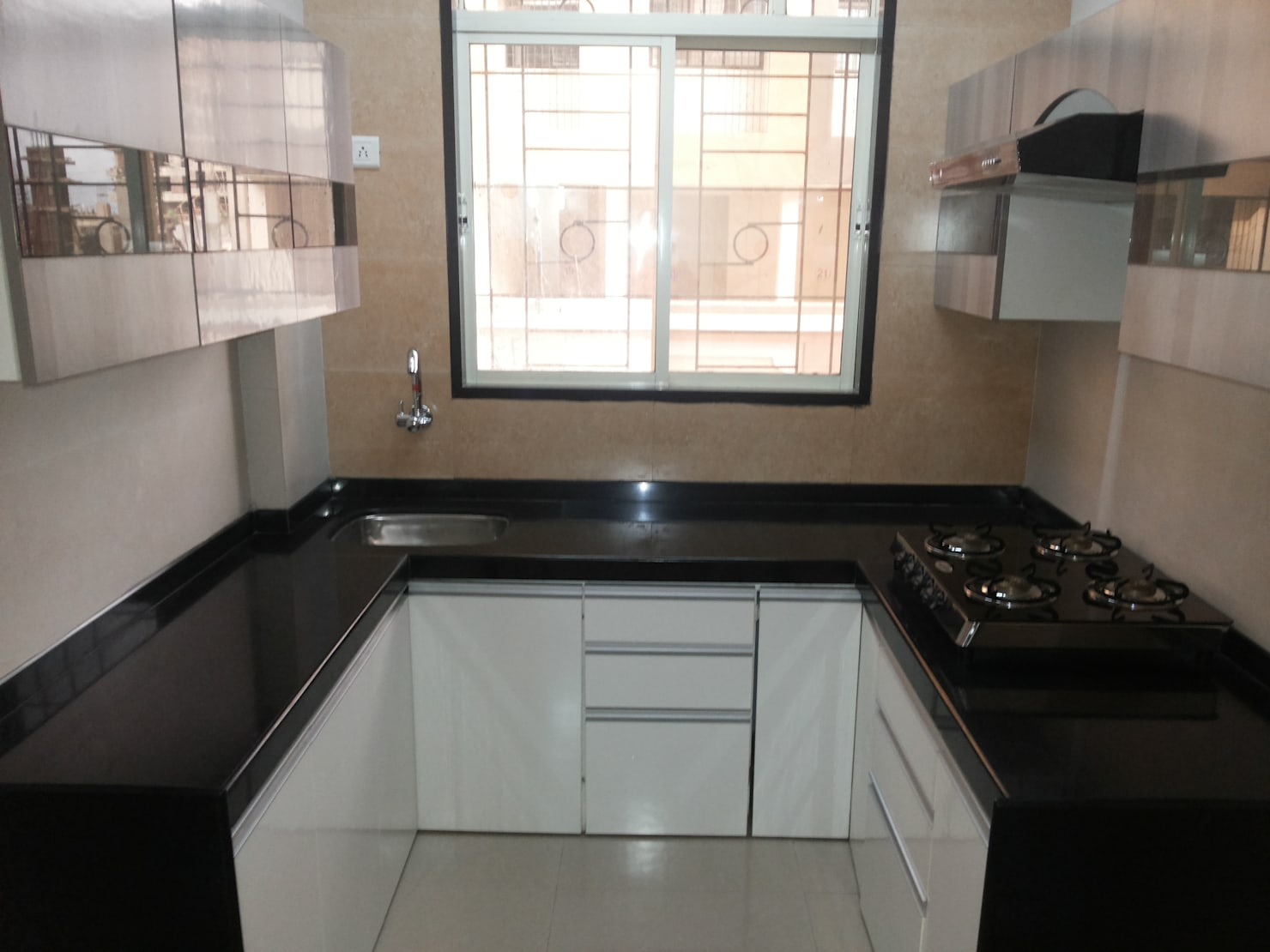 Modular kitchen design idea from a Mumbai home