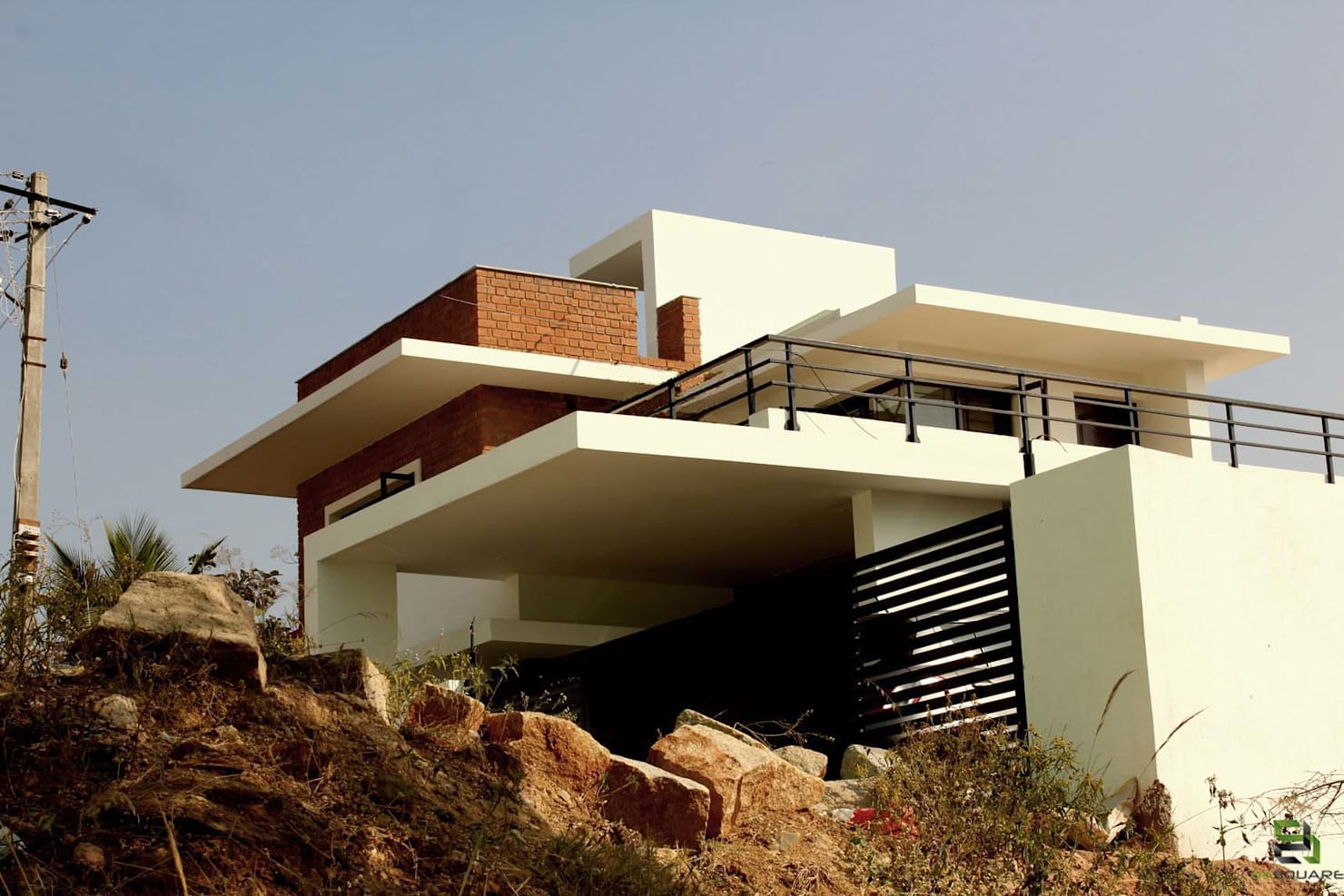 Facade design ideas from a home in Bangalore