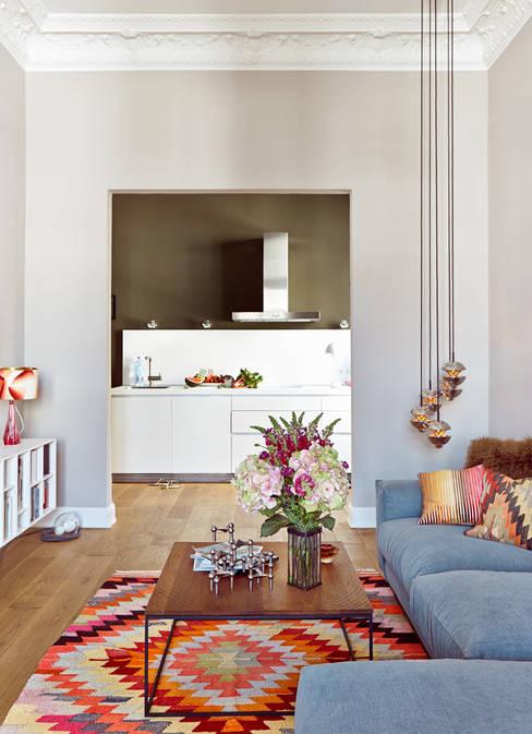 Living room by decorazioni