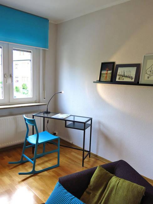 Arbeitszimmer:  Wohnzimmer von Holzer & Friedrich GbR