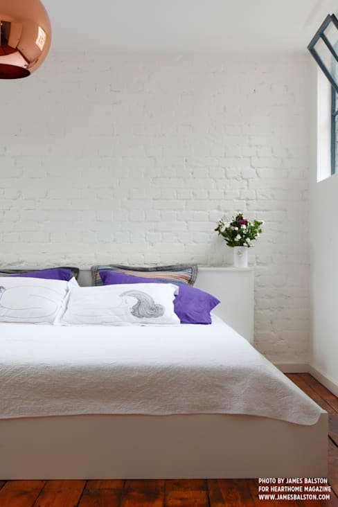 Camera da letto in stile  di Cassidy Hughes Interior Design