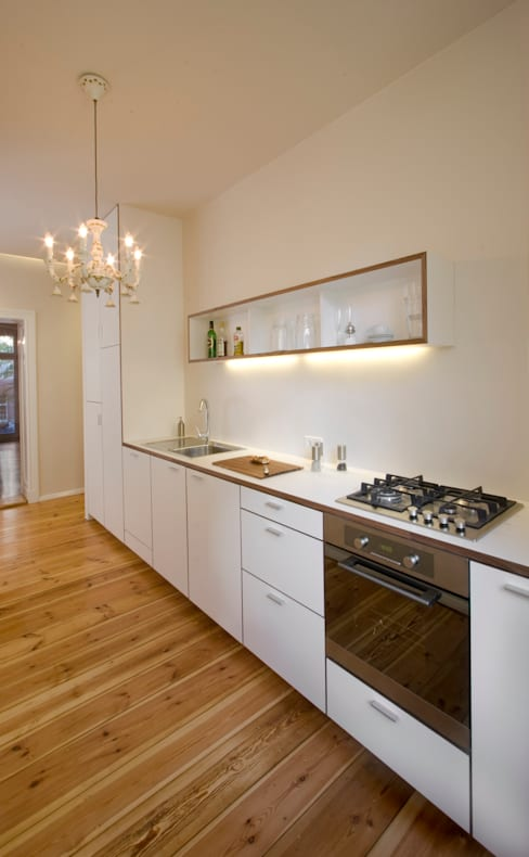 Kitchen by Nickel Architekten