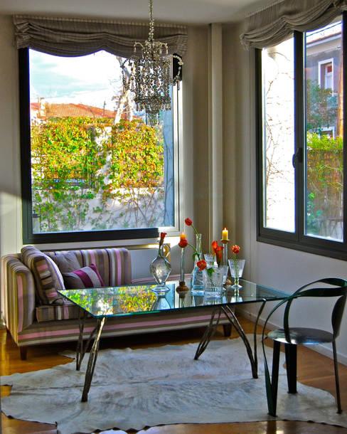 غرفة المعيشة تنفيذ Ines Benavides