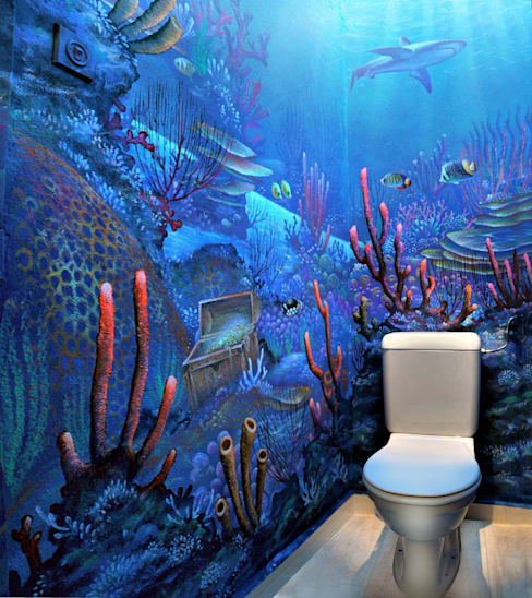 Bathroom by Atelier Frederic Gracia