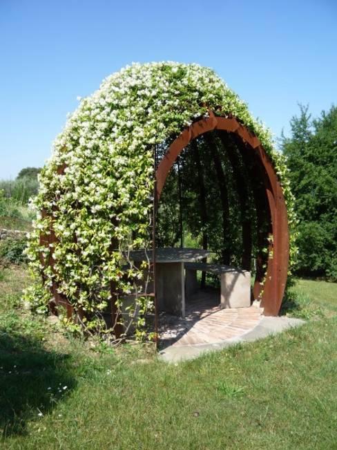 Jardines de estilo  por CHRISTIAN THEILL DESIGN
