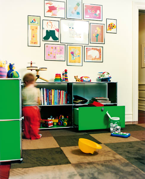 Quarto de crianças  por USM Möbelbausysteme