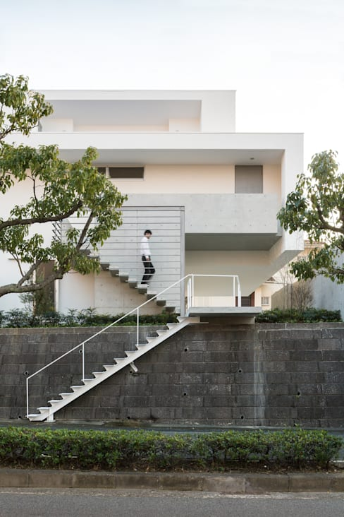 Kenji Yanagawa Architect and Associates의  주택