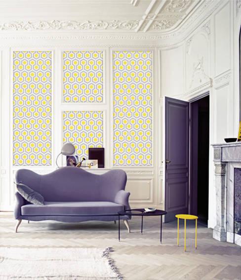 غرفة المعيشة تنفيذ Lé Papiers de Ninon