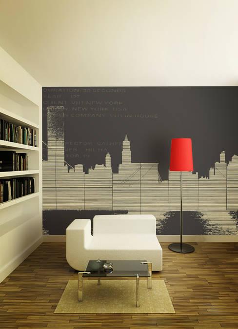 뮤럴벽지_L00491_NEWYORK: U2의  벽 & 바닥