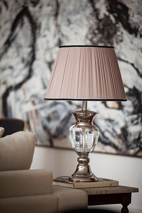 Living room by BJG Decorações de Interiores Ltda