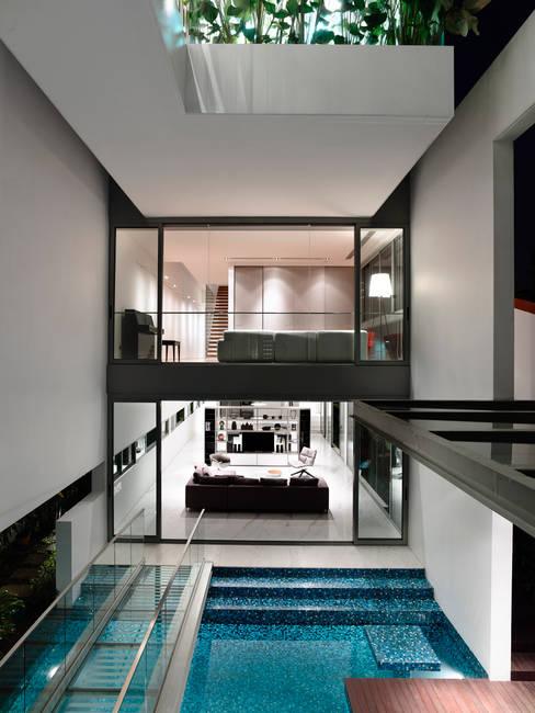 Bridge Over Water:  Windows by HYLA Architects