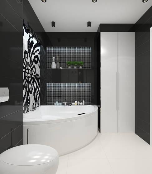 Квартира 120м2 в г. Казань: Ванные комнаты в . Автор – PlatFORM