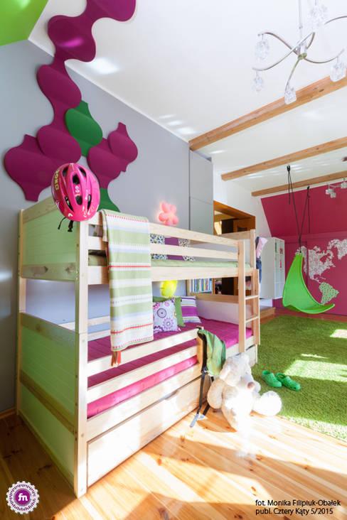 Chambre d'enfant de style  par FLUFFO fabryka miękkich ścian