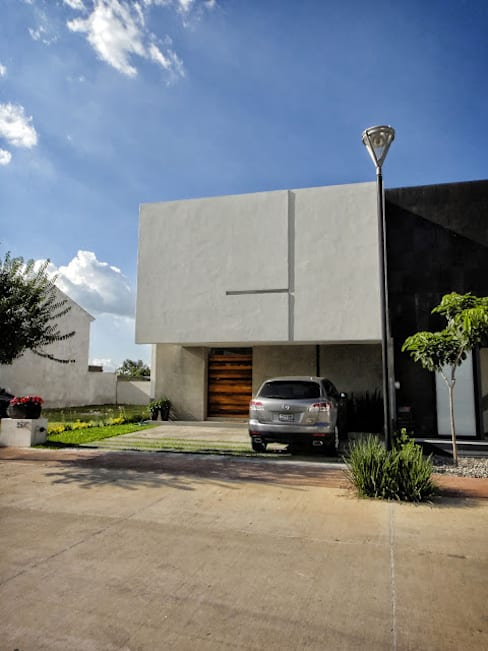 منازل تنفيذ Abraham Cota Paredes Arquitecto