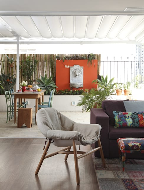 Terrazas  de estilo  por Lore Arquitetura