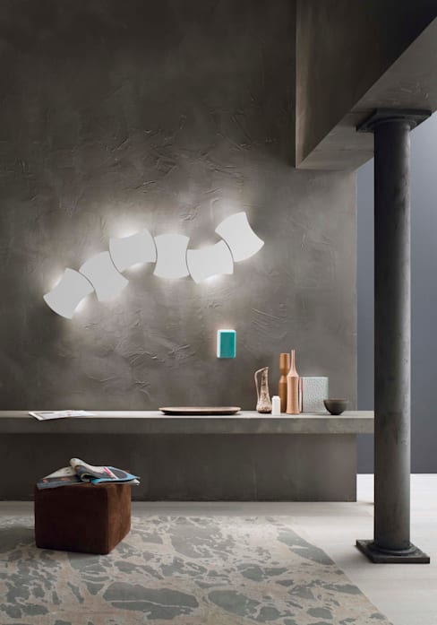 Lucente by Gruppo Rostirollaが手掛けたリビングルーム