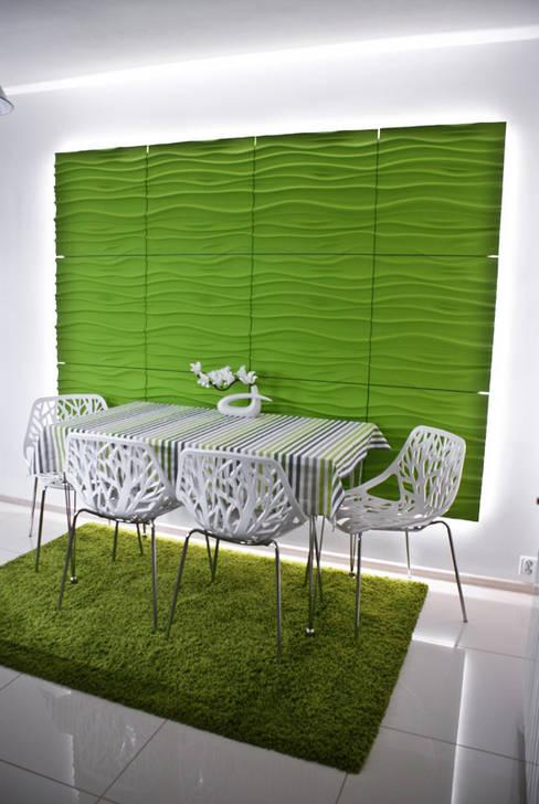 Salas de jantar  por Loft Design System Deutschland - Wandpaneele aus Bayern
