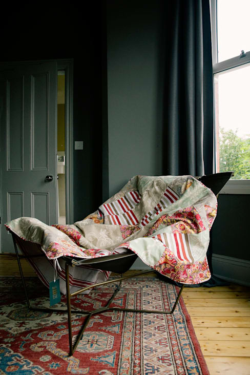 Bedroom by Quilts by Lisa Watson