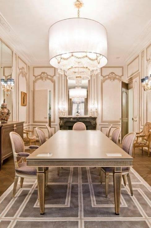 Stephanie Coutas:  tarz Yemek Odası