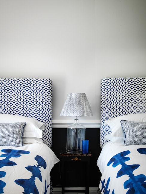 Quadria and Inkat Blue:  Household by Korla Home