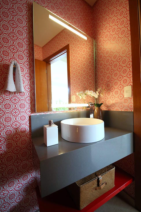 MeyerCortez arquitetura & designが手掛けた浴室