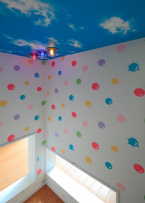 غرفة الاطفال تنفيذ 石嶋寿和/石嶋設計室