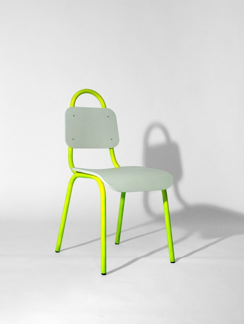 Primary Grey Dining Chair:  Dining room by Primary Grey