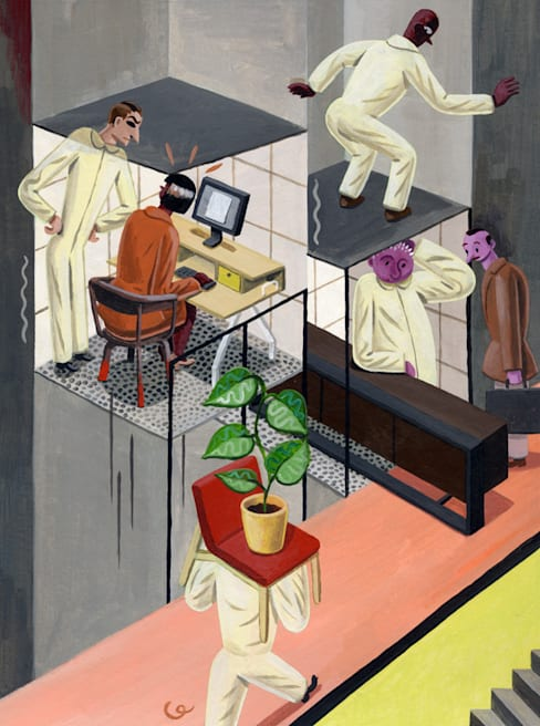 Das ZEITmagazine design issue:  Kunst  door Pieter Van Eenoge