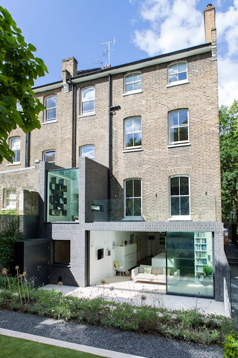 A Brick and a Half house:  Houses by Lipton Plant Architects