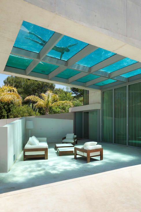 Terrazas de estilo  de Wiel Arets Architects