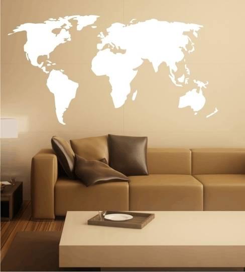 Living room by www.wandtattoo-home.de