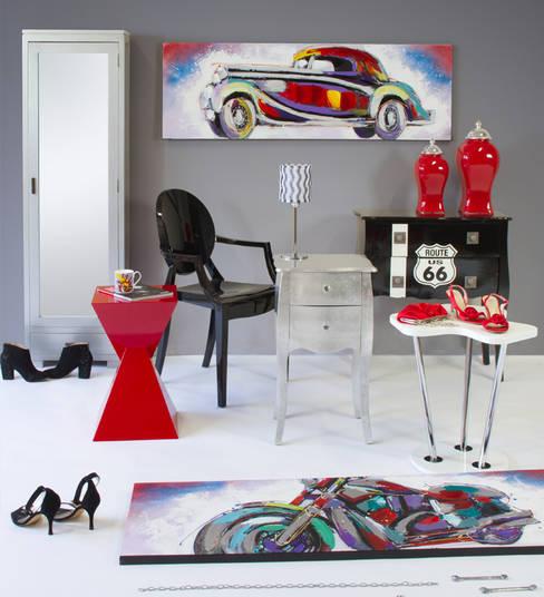 Livings de estilo  por Actúa Decor
