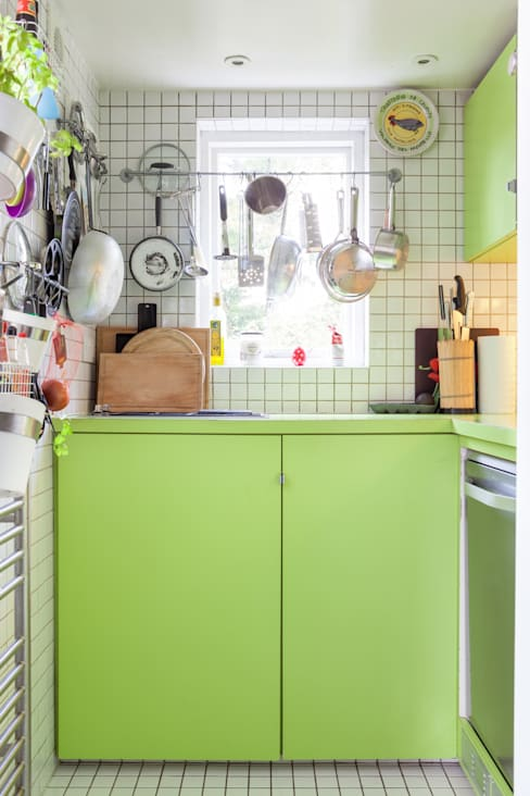 Cocinas de estilo  por Whitaker Studio