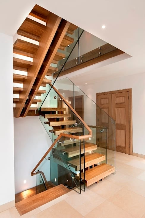 Corridor, hallway & stairs by Smet UK - Staircases