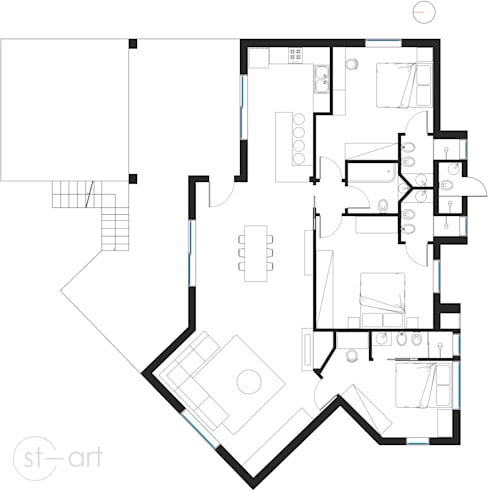 Дома в . Автор – start.arch architettura