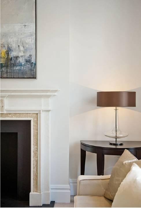 Гостиная в . Автор – Black and Milk | Interior Design | London