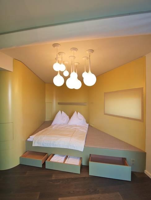 Slaapkamer door 3rdskin architecture gmbh