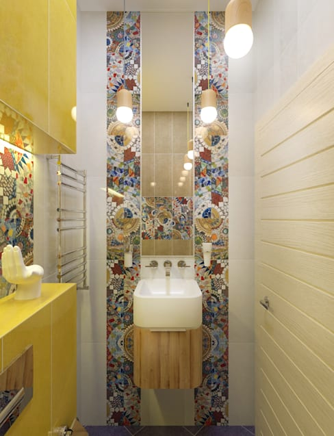 Сан.узел 2: Ванные комнаты в . Автор – PlatFORM