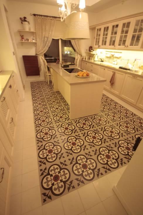 DerganÇARPAR Mimarlık  – AHMET ASLI İLHAN EVİ :  tarz Mutfak